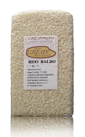 1kg - 2.2lb Carnaroli rice vacuum packed