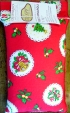 1kg/2.2lb Traditional Christmas red cotton package