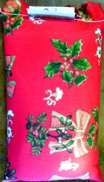 5kg/11lb Traditional Christmas red cotton package