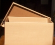 Gift box in brown streaked cardboard cod. 2638
