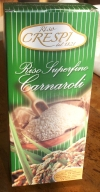 1kg - 2.2lb Carnaroli rice box vacuum packed